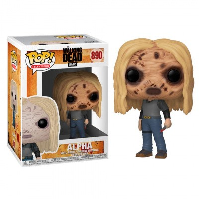Pop! Television: The Walking Dead - Alpha with Mask FUNKO