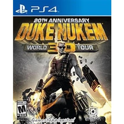 Duke Nukem 3D 20Th Anniversary World Tour PS4
