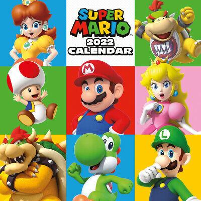 Foto van Nintendo: Super Mario 2022 Calendar MERCHANDISE