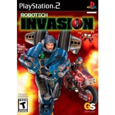 Robotech Invasion PS2