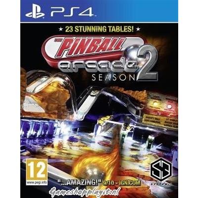 Foto van The Pinball Arcade Season 2 PS4