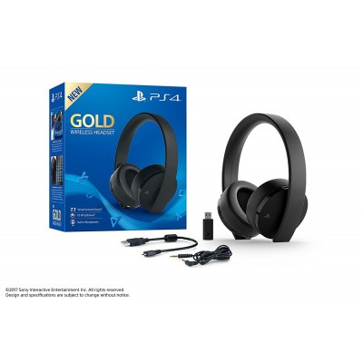 Foto van Sony Gold Wireless Stereo Headset PS4