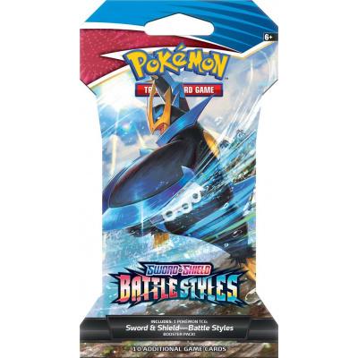 TCG Pokémon Sword & Shield Battle Styles Sleeved Booster Pack POKEMON