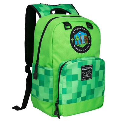 Minecraft - Miner's Society Backpack MERCHANDISE