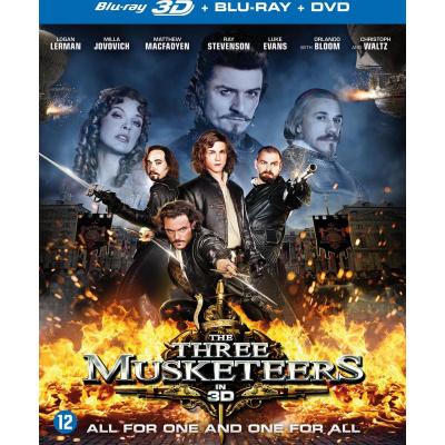 Foto van The Three Musketeers 3D (Blu-Ray + DVD) BLU-RAY