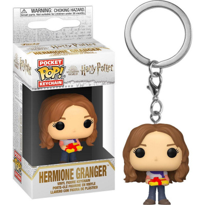 Foto van Pocket Pop! Keychain: Harry Potter - Holiday Hermione FUNKO