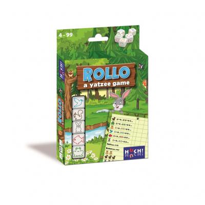 Rollo A Yatzee Game - Dieren NL/FR BORDSPELLEN