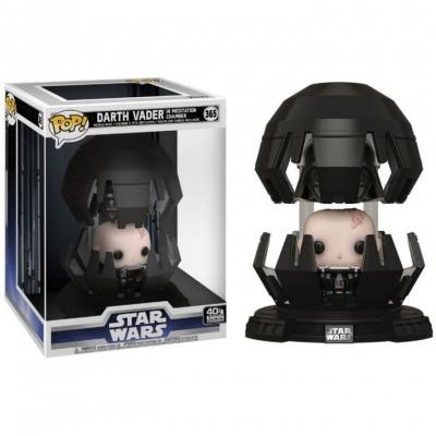 Foto van Pop! Deluxe: Star Wars - Darth Vader In Meditation Chamber FUNKO