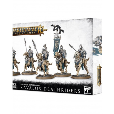 Ossiarch Bonereapers Kavalos Deathriders WARHAMMER AOS