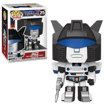 Foto van Pop! Retro Toys: Transformers - Jazz FUNKO