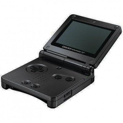 Foto van Gameboy Advance Sp Black (In doos) GAMEBOY
