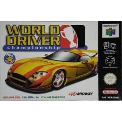 Foto van World Driver Championship N64