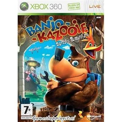 Banjo Kazooie Boutjes & Moertjes XBOX 360