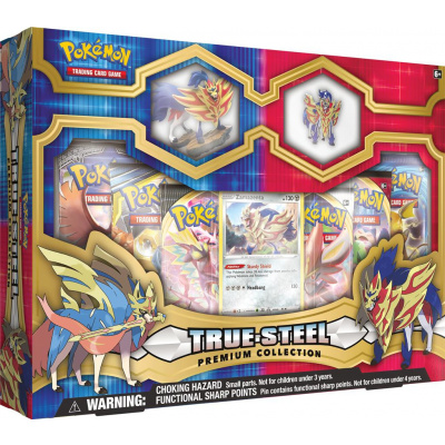Foto van TCG Pokémon True Steel Premium Collection - Zamazenta POKEMON