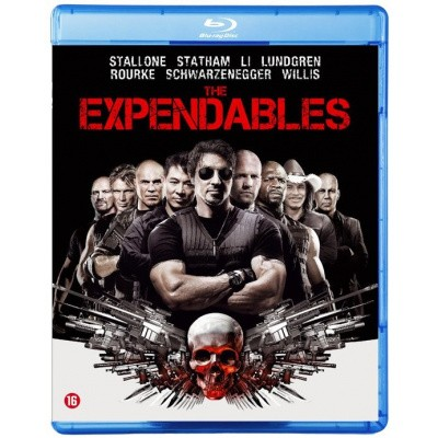 Foto van The Expendables BLU-RAY MOVIE