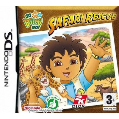 Go Diego Go! Safari Avontuur NDS