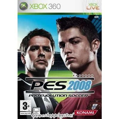 Pro Evolution Soccer 2008 (Pes 2008) XBOX 360
