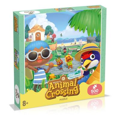 Animal Crossing Puzzle 500pc PUZZEL