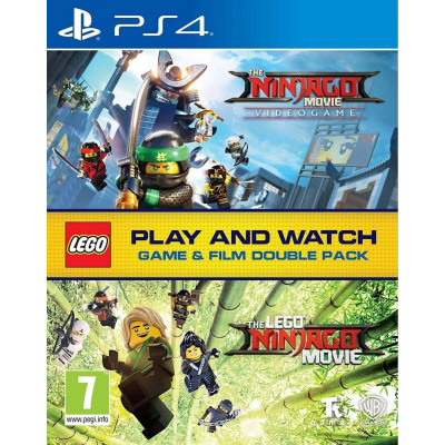 Foto van Lego Ninjago Movie Videogame & The Lego Ninjago Movie (Blu-Ray) Double Pack PS4