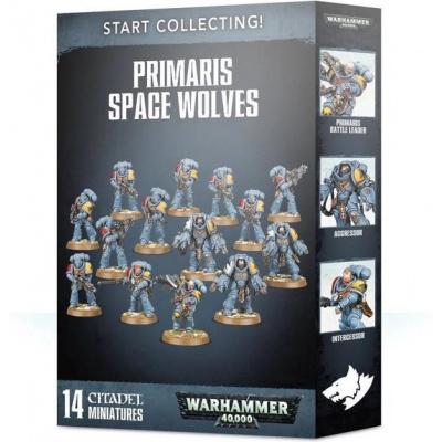 Start Collecting! Primaris Space Wolves WARHAMMER 40K