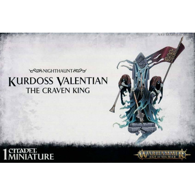 Foto van Kurdoss Valentian The Craven King Warhammer Age of Sigmar
