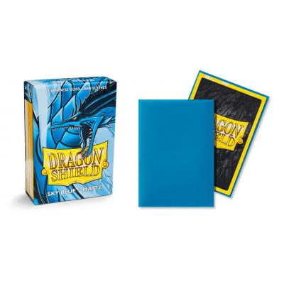 TCG Sleeves - Dragon Shield - Sky Blue Matte Japanese Size