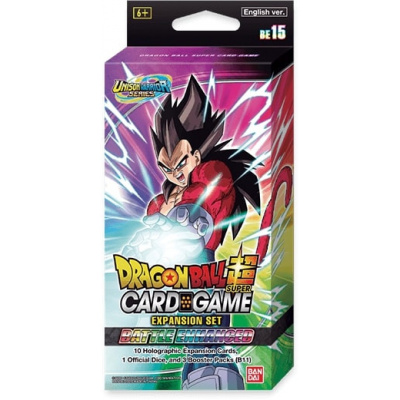Foto van TCG Dragon Ball SCG Battle Enhanced Expansion Set 15 DRAGON BALL