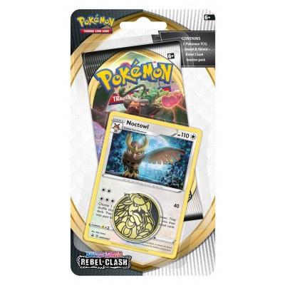 TCG Pokémon Sword & Shield Rebel Clash Checklane Booster - Noctowl POKEMON