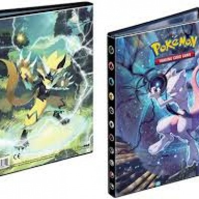 TCG Portfolio 4-Pocket Pokemon Sun & Moon Unbroken Bonds POKEMON