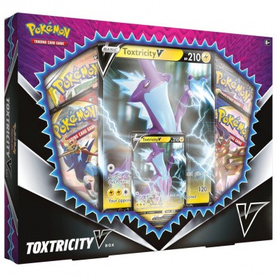 TCG Pokémon Toxtricity V Box POKEMON