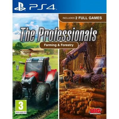 Foto van The Professionals: Farming + Forestry PS4