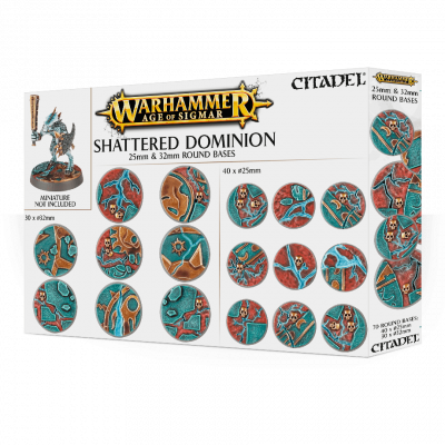 Aos: Shattered Dominion: 25 mm & 32mm WARHAMMER AOS