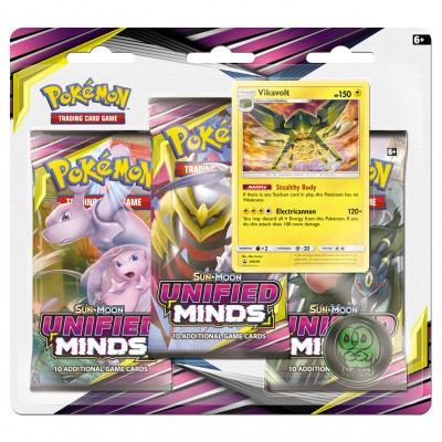 TCG Booster Packs Pokémon Sun & Moon Unified Minds - Vikavolt POKEMON