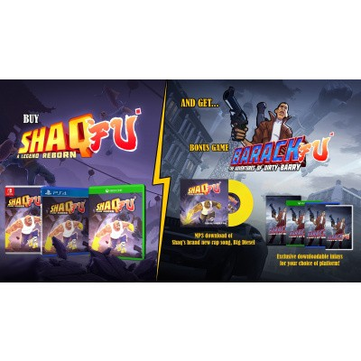 Shaq Fu: A Legend Reborn XBOX ONE