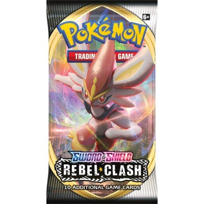 TCG Pokémon Sword & Shield Rebel Clash Booster Pack POKEMON