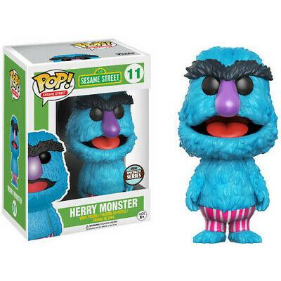 Pop! Tv: Sesame Street - Herry Monster FUNKO