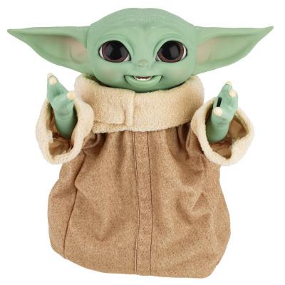 Star Wars: The Mandalorian - Galactic Snackin' Grogu Animatronic Figurine MERCHANDISE