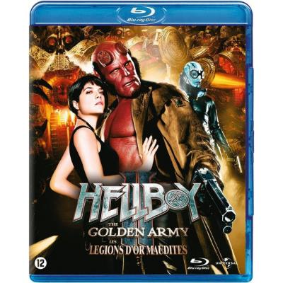 Foto van Hellboy 2 The Golden Army BLU-RAY