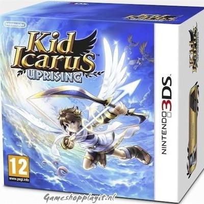 Foto van Kid Icarus Uprising + Stand 3DS