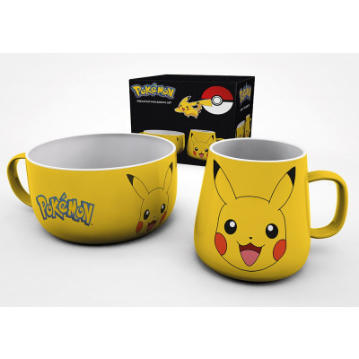 Pokémon: Pikachu Breakfest Mug & Bowl Set MERCHANDISE