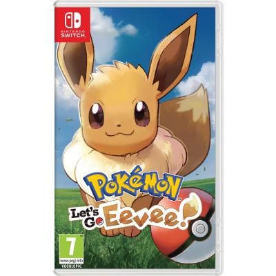 Foto van Pokemon: Let's Go, Eevee! (Duitse Cover) SWITCH