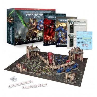 Foto van Warhammer 40,000 Command Edition Starter Set WARHAMMER 40K