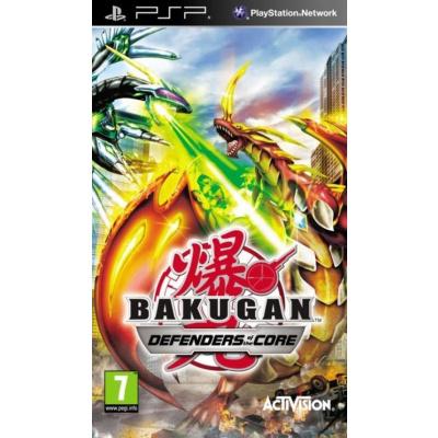 Bakugan Defenders Of The Core PSP