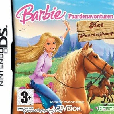 Foto van Barbie Paardenavonturen Het Paarden Rijkamp NDS
