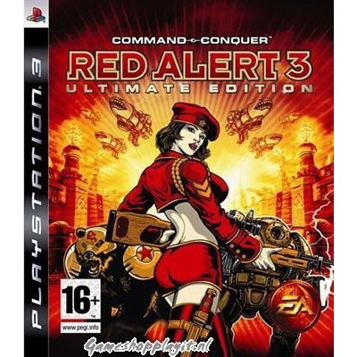 Command & Conquer Red Alert 3 Ultimate Edition PS3