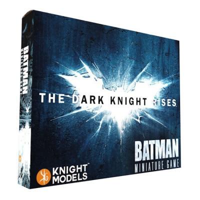 The Dark Knight Rises Game Box: Batman Miniature Game BORDSPELLEN