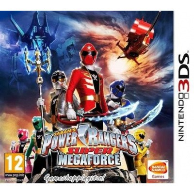 Power Rangers Super Mega Force 3DS