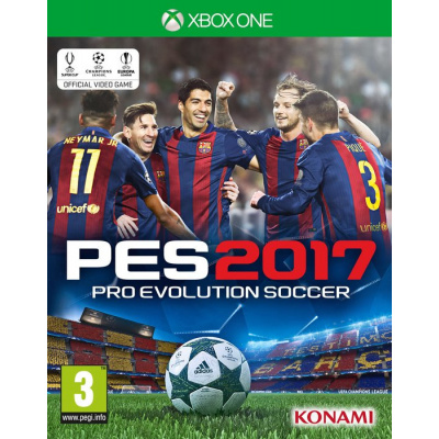 Pro Evolution Soccer 2017 (Pes 2017) XBOX ONE
