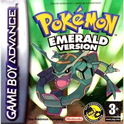 Foto van Pokemon Emerald Version - In Doos GBA