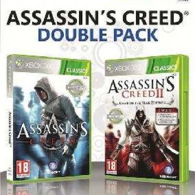 Foto van Assassin's Creed Double Pack Deel 1 En 2 XBOX 360